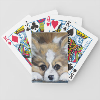 Corgilicious Bicycle Playing Cards