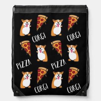 Corgis and Pizza Bag