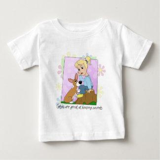Corgis Keep Secrets Baby T-Shirt
