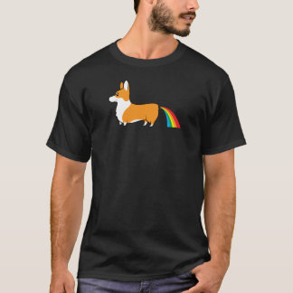 Corgis poop rainbows T-Shirt