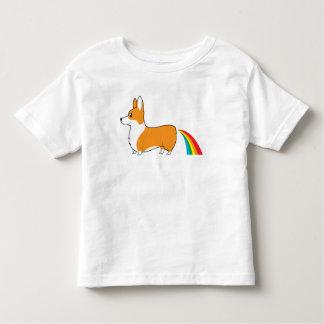 Corgis poop rainbows toddler T-Shirt