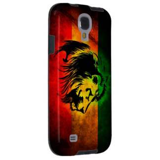 Cori Reith Rasta reggae lion Galaxy S4 Case