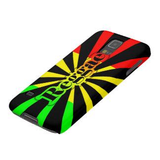 Cori Reith Rasta reggae music rasta flames Galaxy S5 Covers