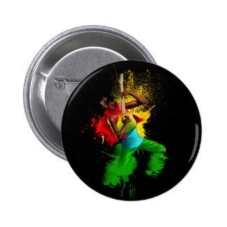 Cori Reith Rasta reggae rasta man music graffiti Pinback Buttons