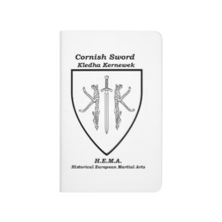Corinsh sword crest note book