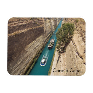Corinth Canal Rectangular Photo Magnet
