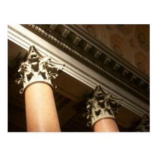 Corinthian Columns Postcard