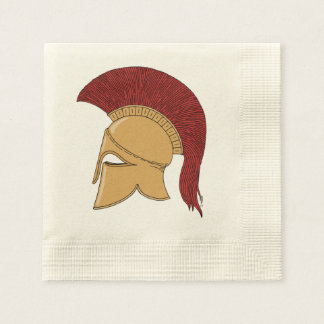 Corinthian Helmet Disposable Napkin