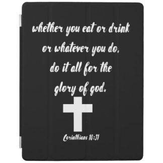 Corinthians 10:31 iPad cover