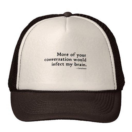 Coriolanus Insult (16thC version) Mesh Hats