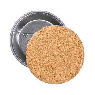 Cork Pinback Button