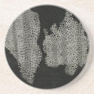 Cork Cells, Robert Hooke Sandstone Coaster