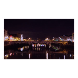 Cork City Bridge Poster