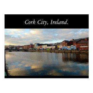 Cork City, Ireland Postcard