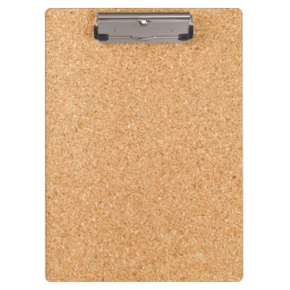 Cork Clipboard