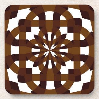 Cork Coaster Brown Shades