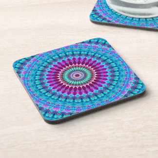 Cork Coaster Geometric Mandala G382