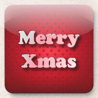Cork Coaster icon Merry Christmas