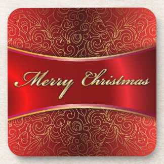 Cork Coaster Merry Christmas