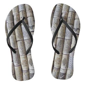 Cork flip flop