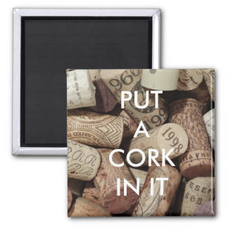 Cork It Magnet