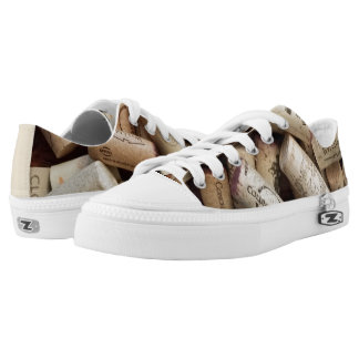 Cork Low-Top Sneakers