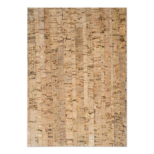Cork-oak pattern card