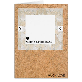 Cork Quirky Christmas Card