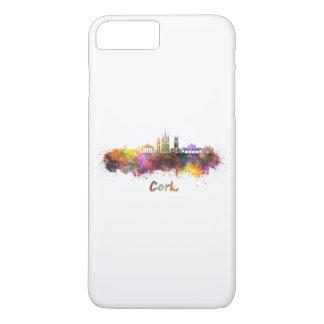 Cork skyline in watercolor iPhone 8 plus/7 plus case
