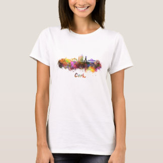 Cork skyline in watercolor T-Shirt