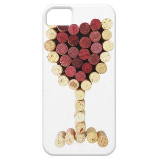 Cork Wine Glass iPhone 5 Case