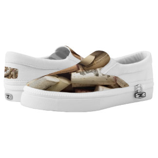 Cork Zipz Slip On Shoes, US Men 4 / US Women 6