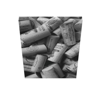 Corks of Wine Gone By Canvas Print