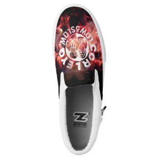 """CorleyQ """"Fire"""" Deck Shoes Printed Shoes"""