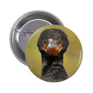 Cormorant Attitude 6 Cm Round Badge