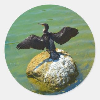 Cormorant Classic Round Sticker