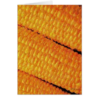 Corn Blank Greeting Card