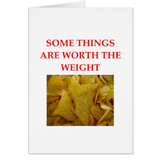 CORN CHIPS CARD