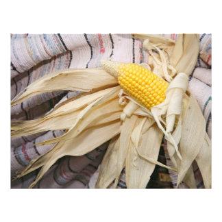 Corn cob 21.5 cm x 28 cm flyer