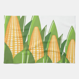 Corn Cob Tea Towel