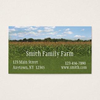Corn Crop Business Card