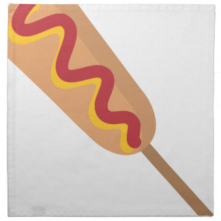 Corn Dog Drawing Napkin
