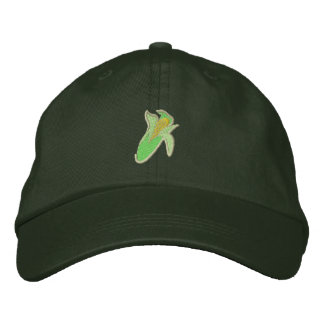 Corn Embroidered Hat
