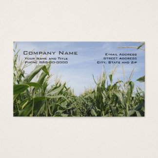 Corn Farmer Business Cards