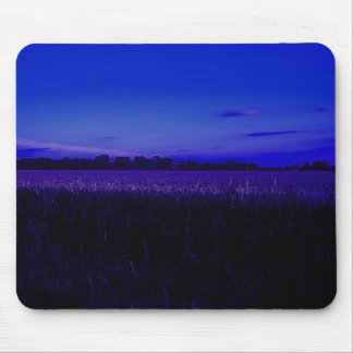 Corn Field at Night Mouse Pad