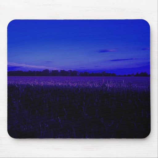 Corn Field at Night Mouse Mats