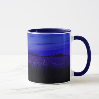 Corn Field at Night Mug