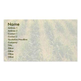 Corn field business card templates