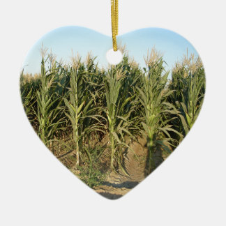 Corn Field Ceramic Ornament