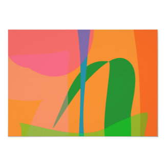 Corn Field Sundown 13 Cm X 18 Cm Invitation Card
